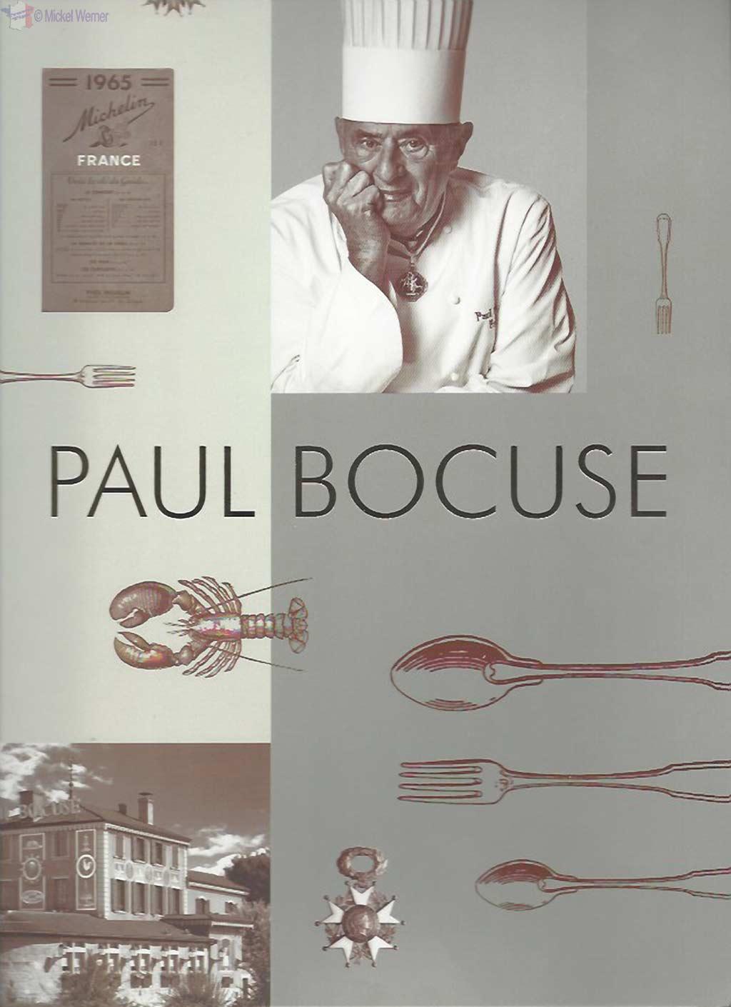 Paul Bocuse menu cover