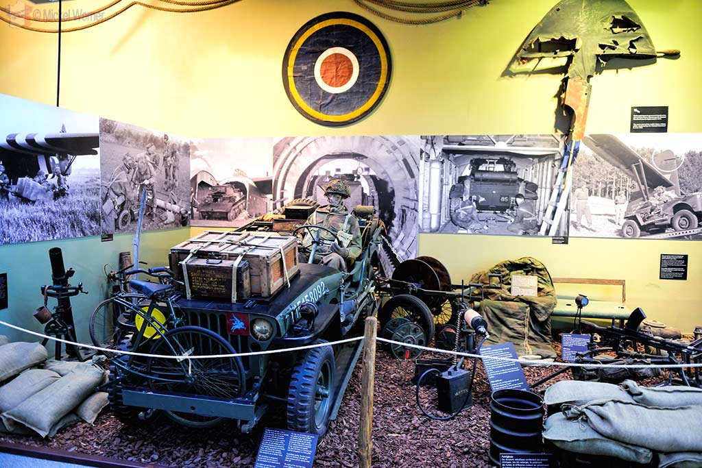real items used during the battle at Pegasus Bridge