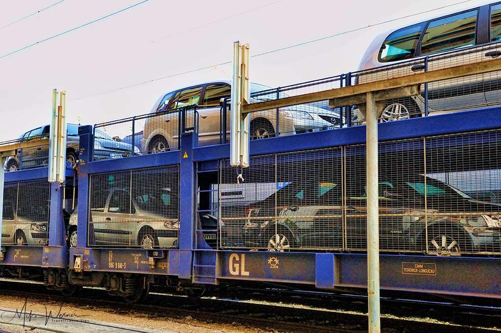 Auto/Train (Car) trains service in France