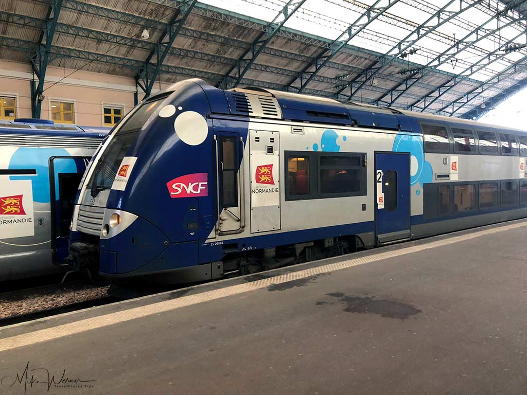 Modern Intercites train of the SNCF