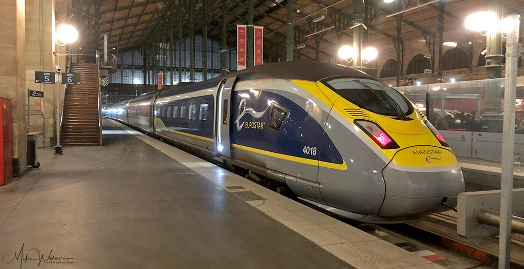 Eurostar High Speed Train, TGV, serving the UK