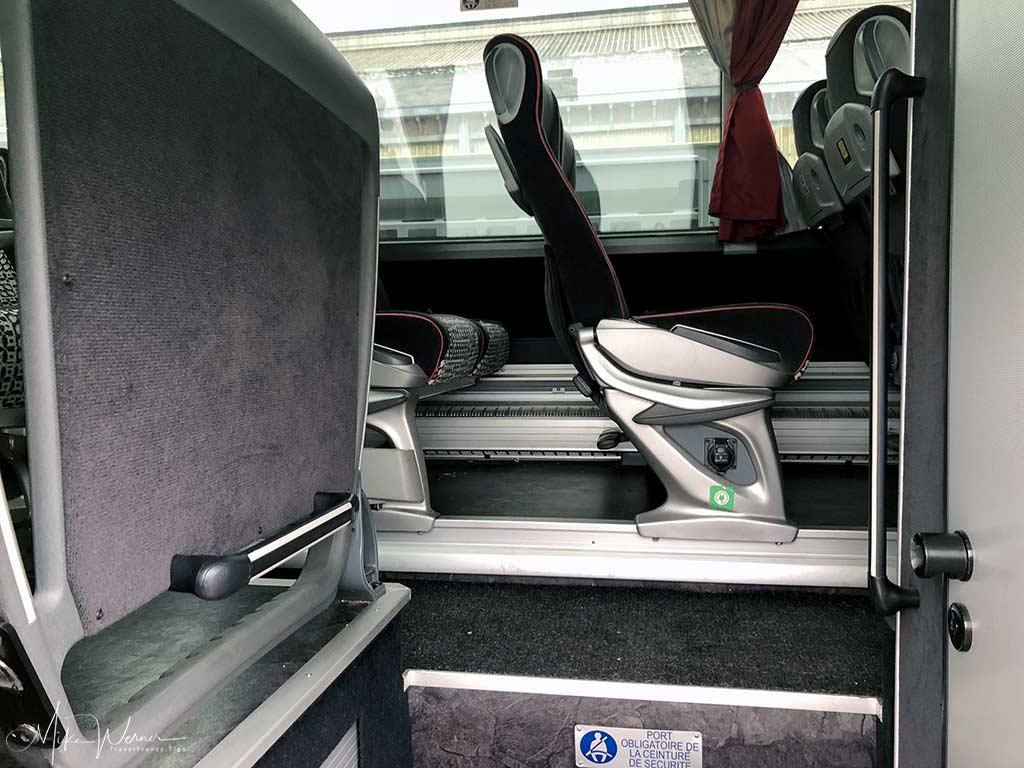 Flixbus interior