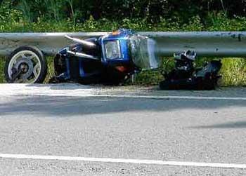 Dangerous crash barriers