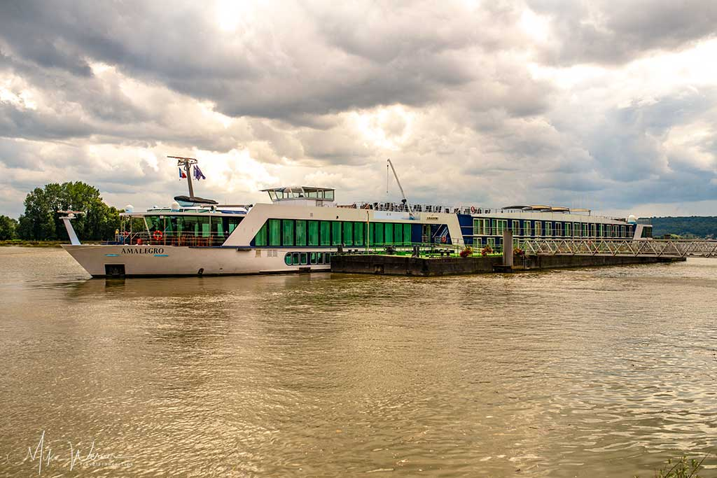 River cruise ship