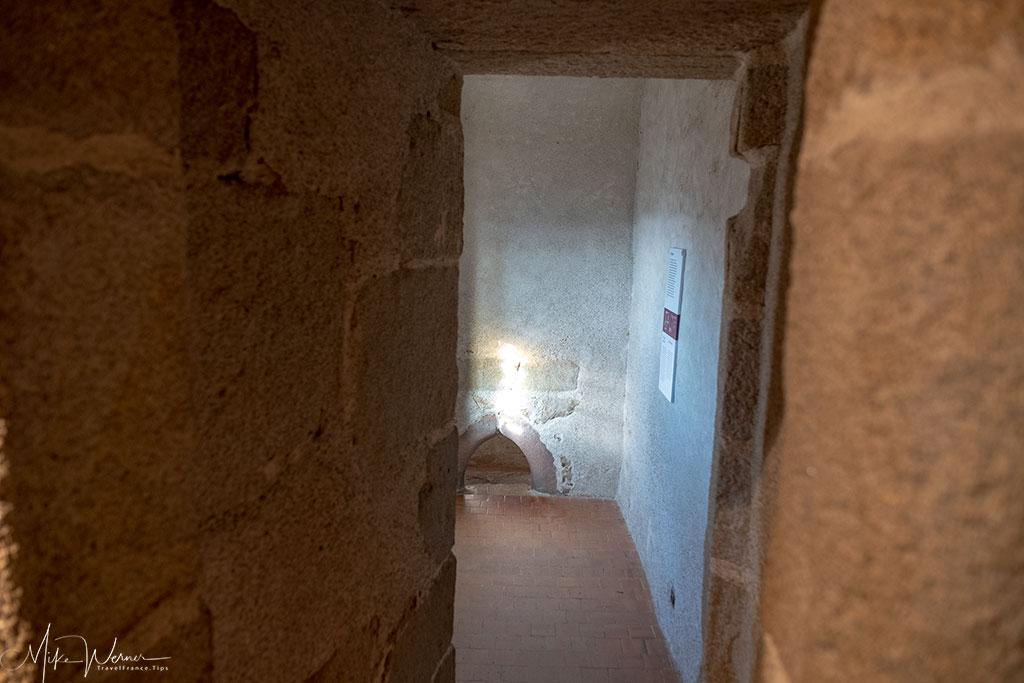 Duke's steam room (hammam) in the Chateau/Fortress Suscinio in Brittany