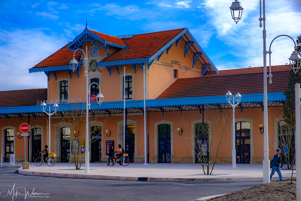 Railway station of Arcachon