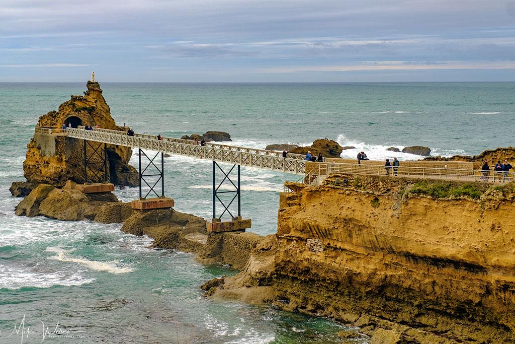 Biarritz's Rocher du Vierge