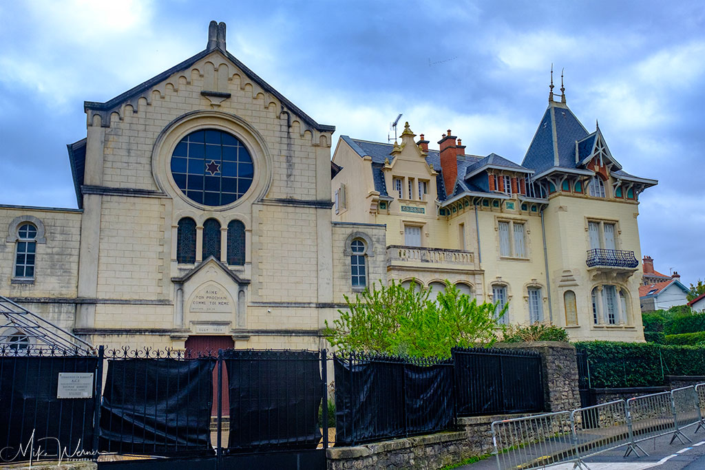 Main synagogue of Biarritz