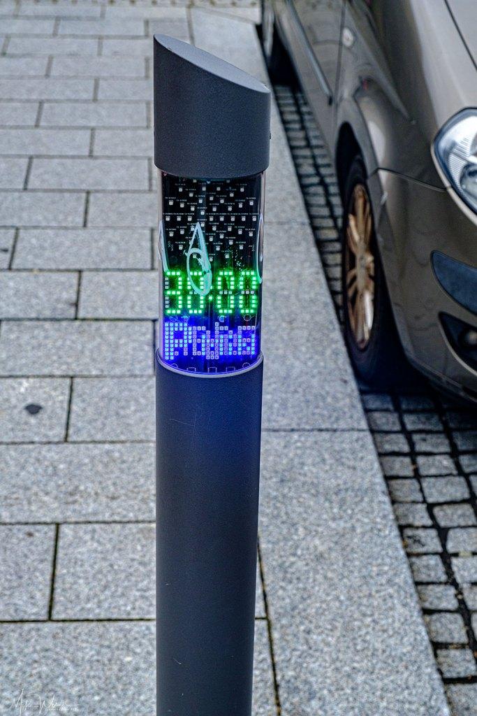 Parking meter in Biarritz