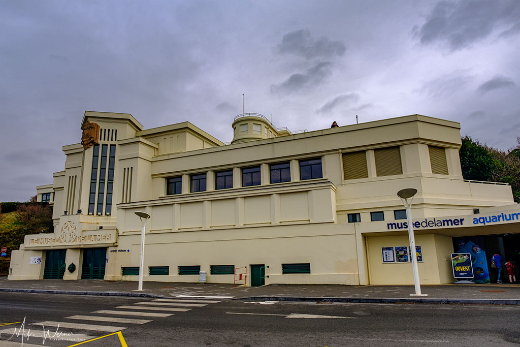 The Museum of the Sea of Biarritz