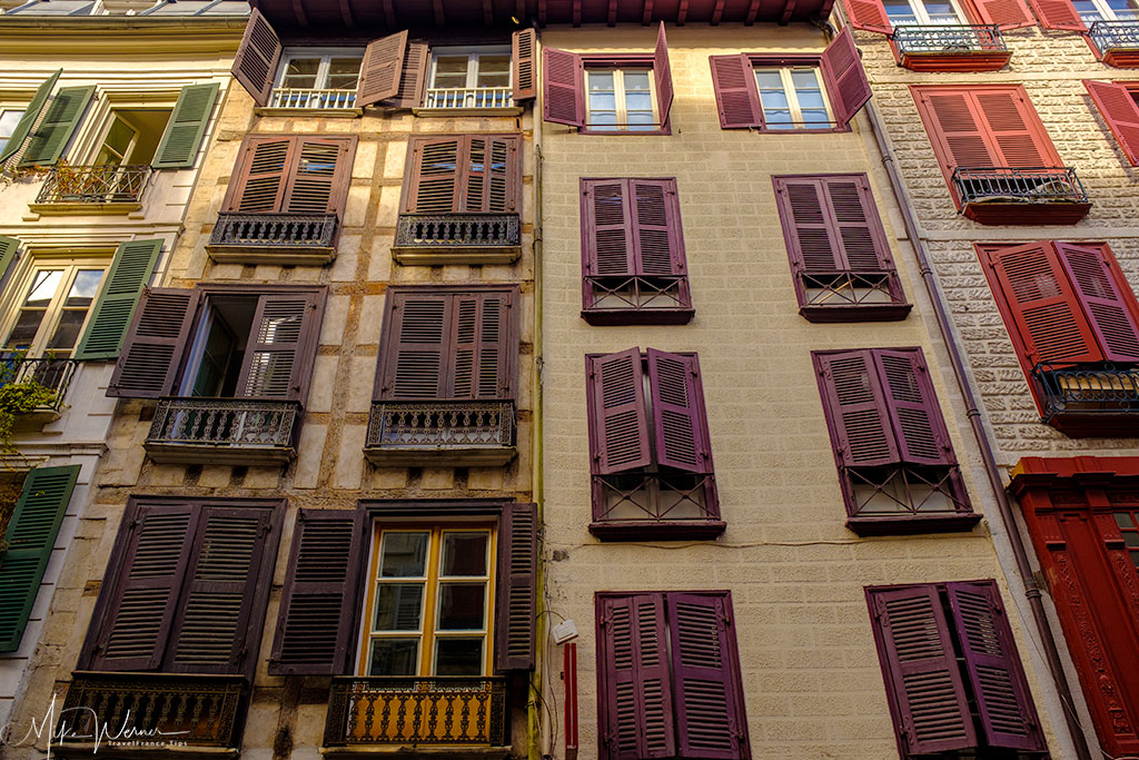 Old building in Bayonne