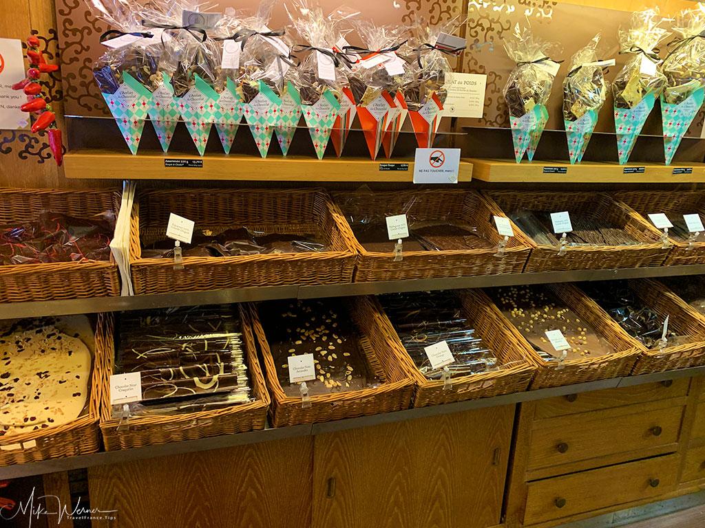 Famous Bayonne chocolates