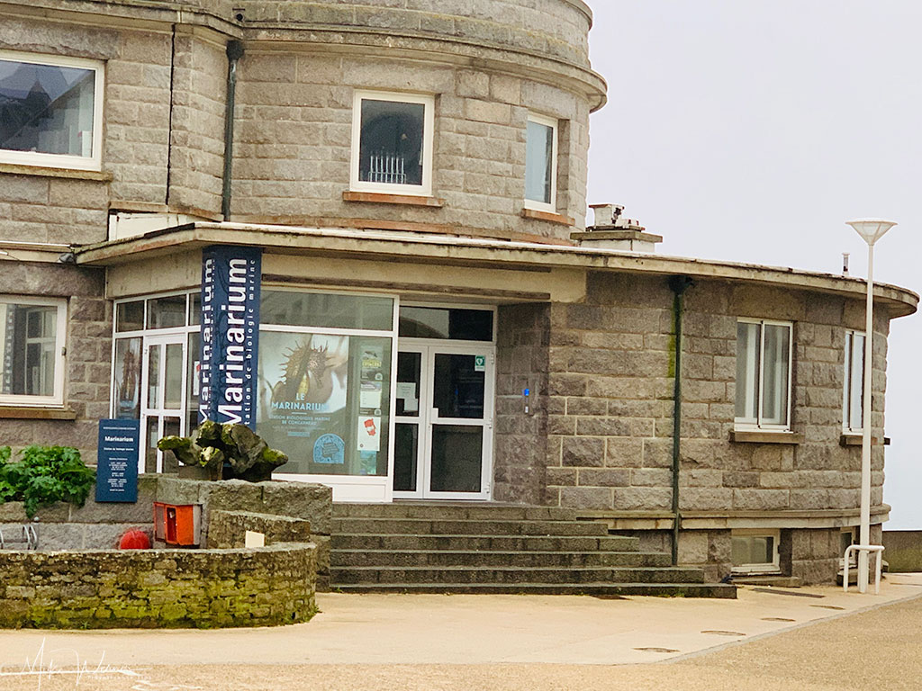 Entrance to the Maritime museum of Concarneau