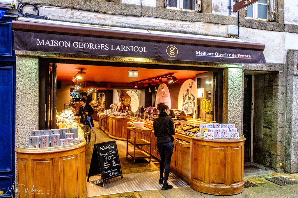 """MAISON GEORGES LARNICOL"", champion master chocolate maker of France"