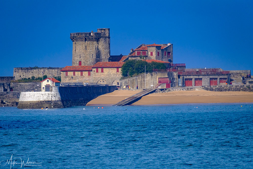 Fort of Socoa of Cibourne next to Saint-Jean-de-Luz