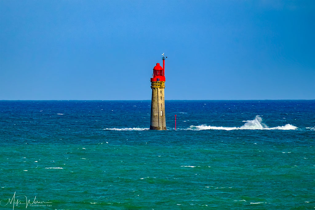 Phare du Grand Jardin (Big Garden Lighthouse) close to Dinard'