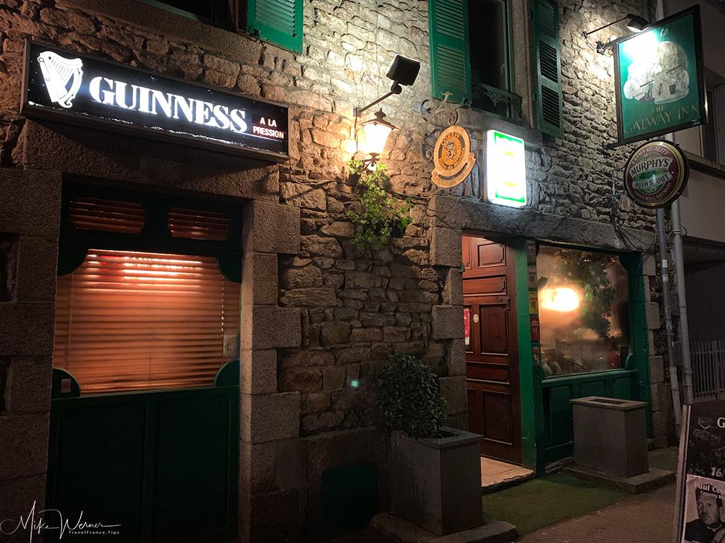 The Galway Inn pub/restaurant in Lorient