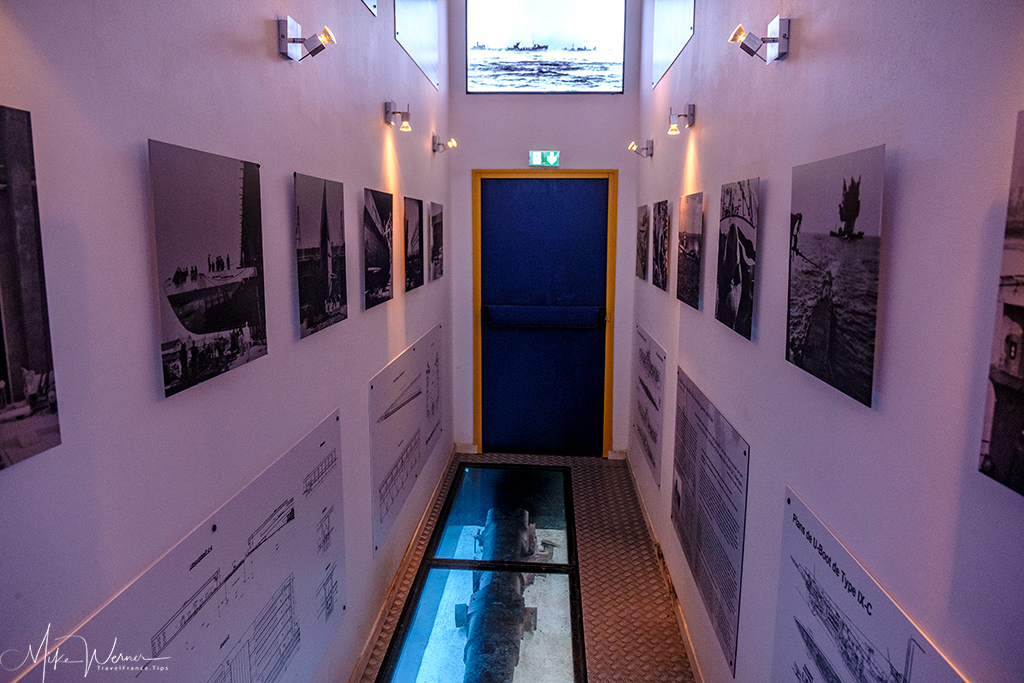 Photos at the Submarine (Sous-Marin) Museum of Lorient, Brittany