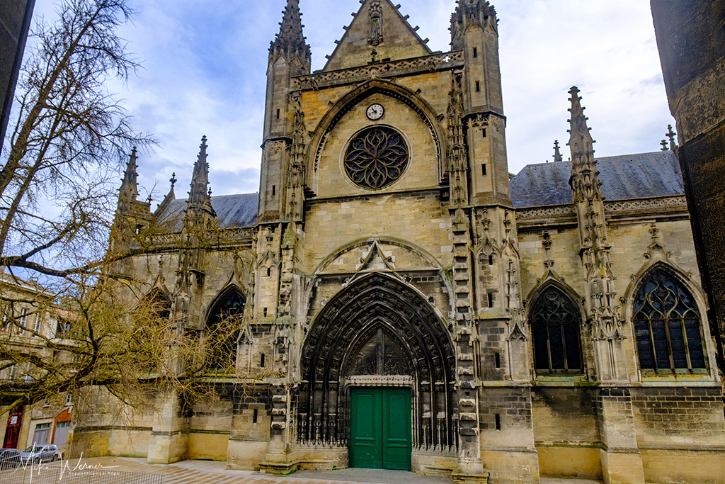 The Basilica-of-St-Michael church in Bordeaux