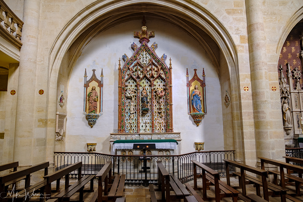 A chapel in the Saint Eloy (Eloi) church in Bordeaux