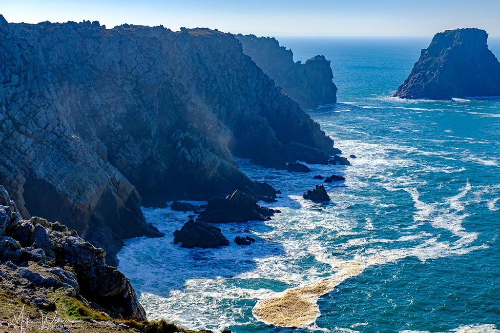 Ragged edges of the cliffs near Camaret-sur-Mer