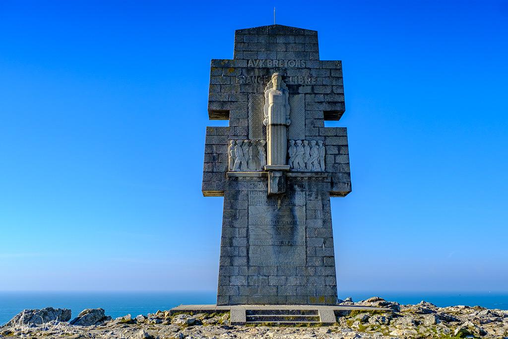 The 'Croix de Pen-Hir' monument of Camaret-sur-Mer