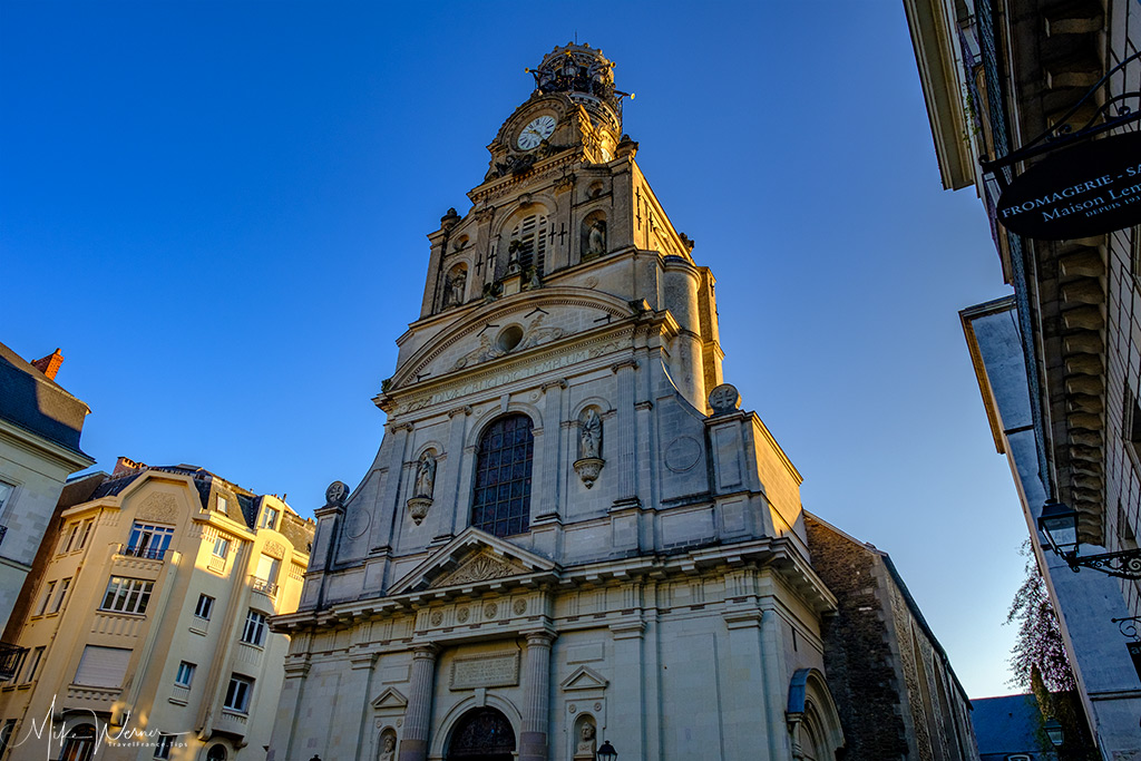 St Croix Church in Nantes