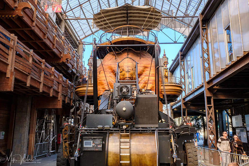 The 'les Machines de l'île' (the Machines of the Island) is the number 1 tourist attraction of nantes