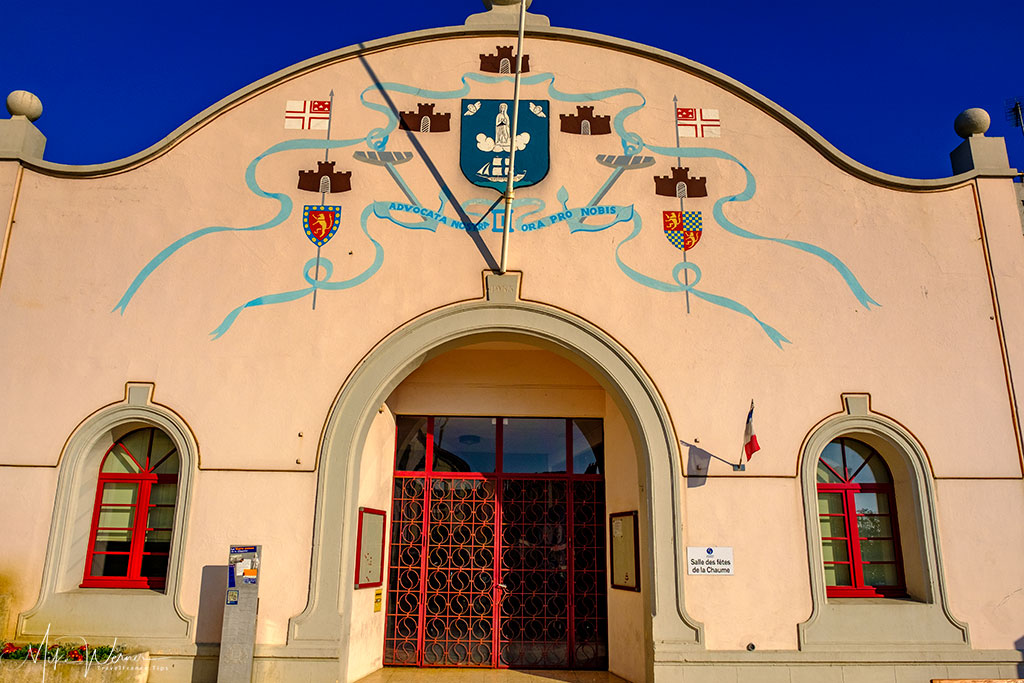 Community hall at Les Sables-d'Olonne