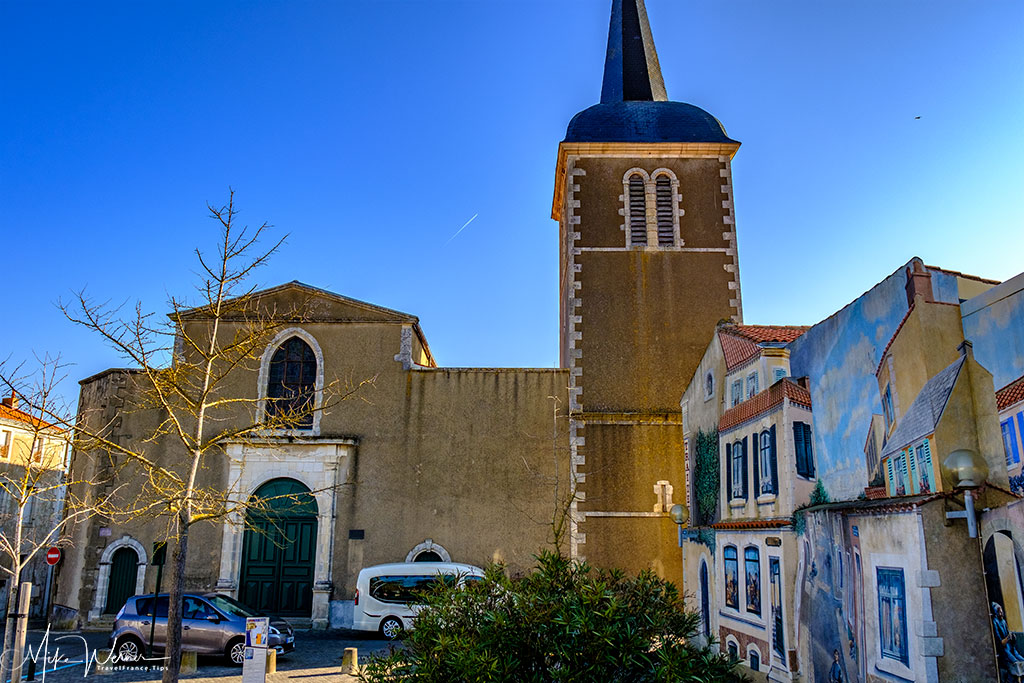 The Eglise Saint Nicolas church in Les Sables-d'Olonne
