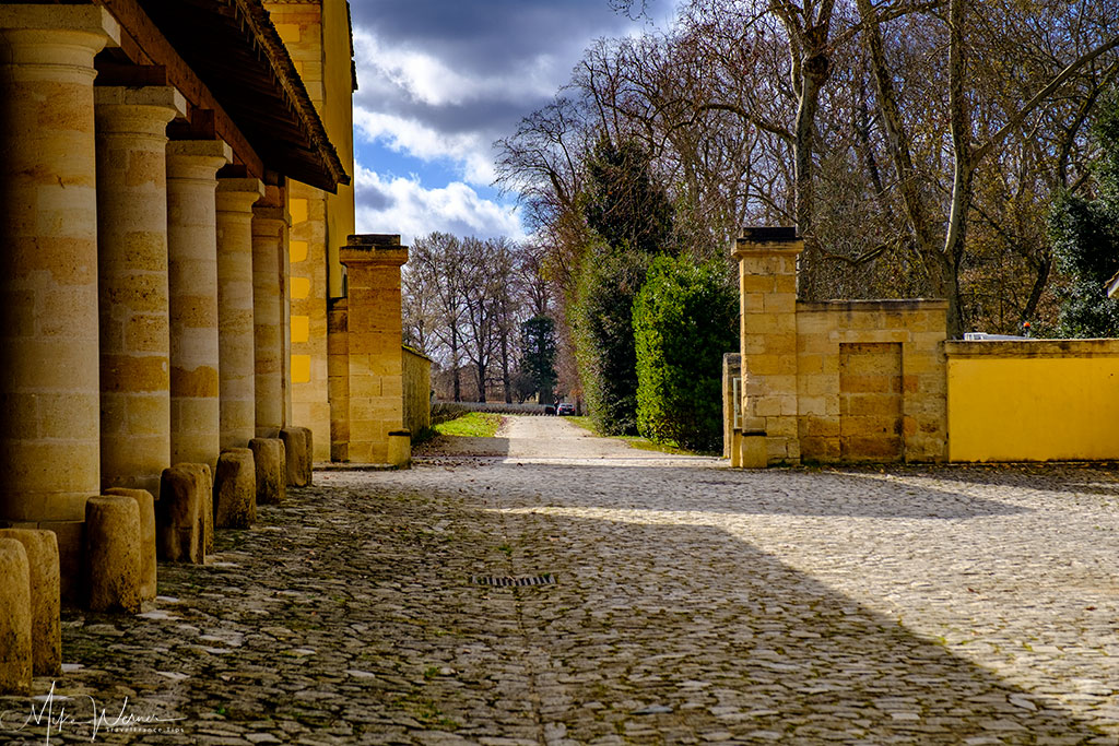 Exit of the Chateau Margaux