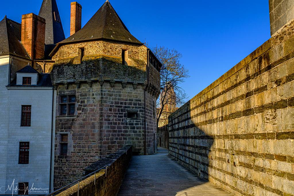 The dungeons of the Nantes castle