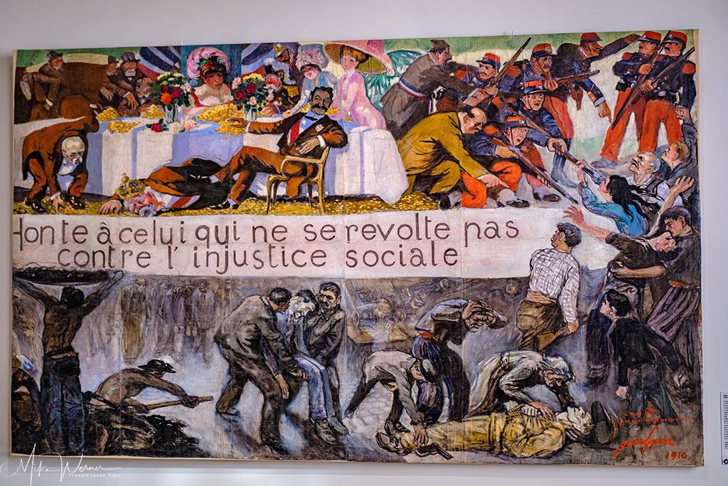 'Shame on those who do not revolt against the social injustice'