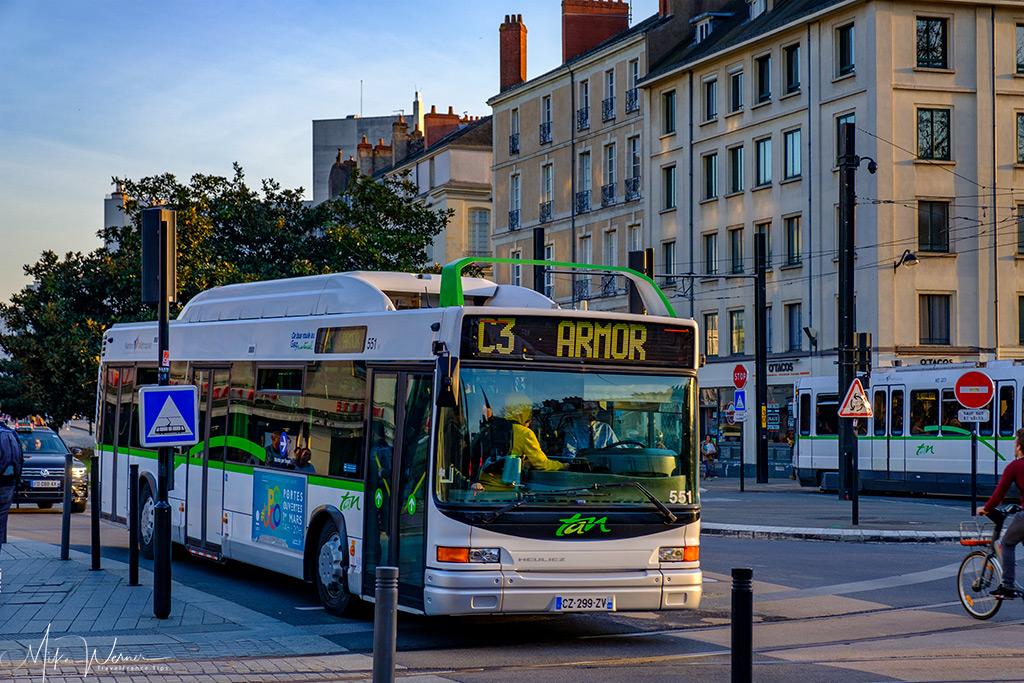 TAN Bus in Nantes