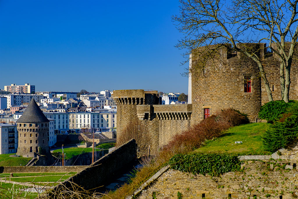 Tour Tanguy and part of the Brest Castle/Fortress in Brittany