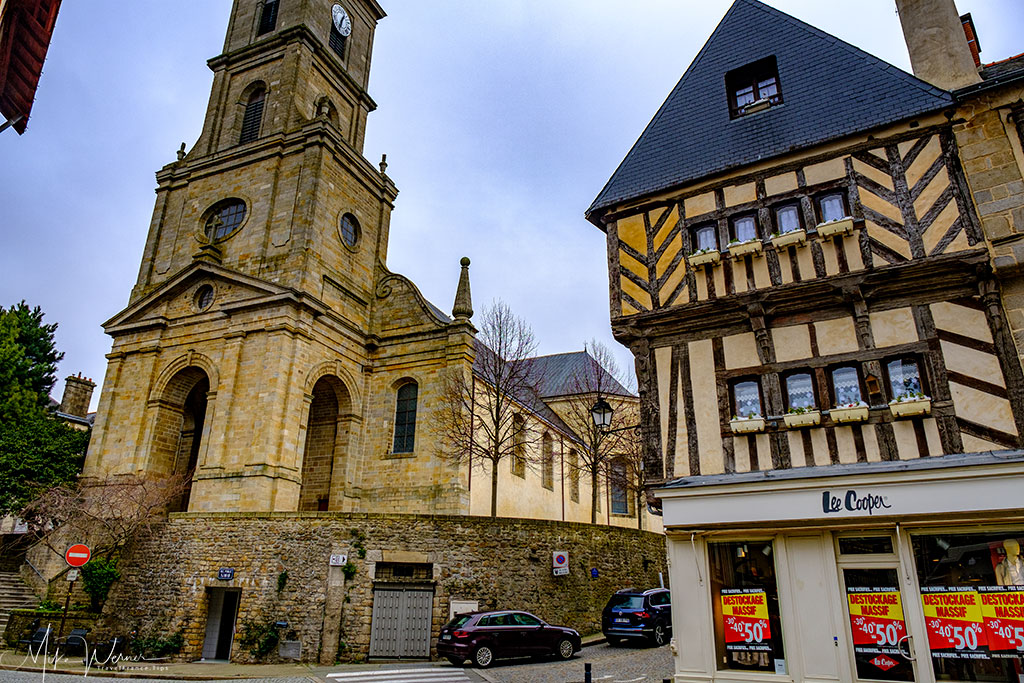 Church in Vannes, Brittany