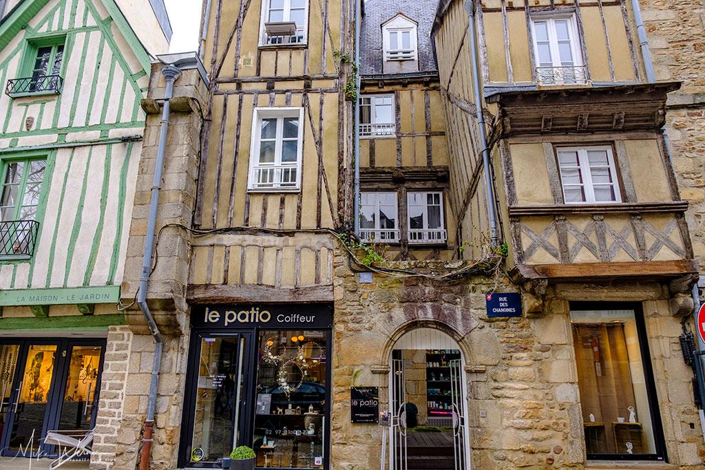 Hairdresser in Vannes, Brittany