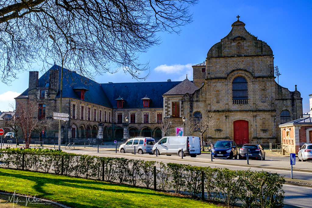 The former Carmel Monastery in Vannes, Brittany