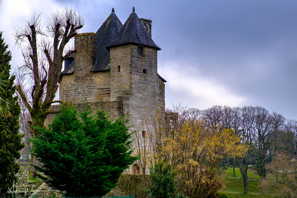 Castle/tower in Vannes, Brittany