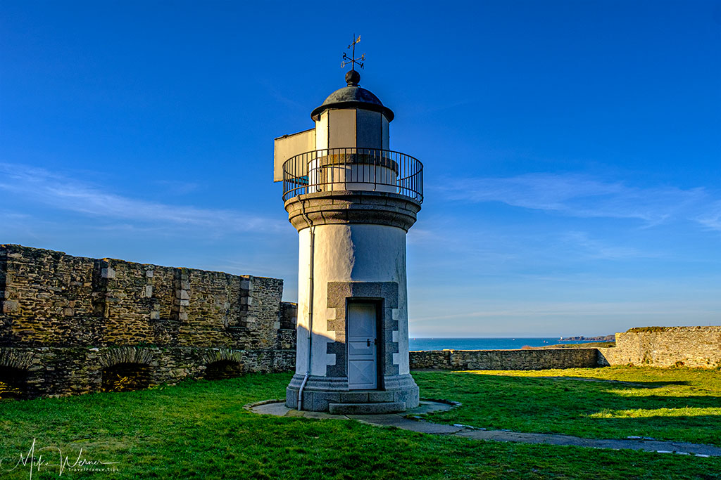 Part of the lighthouse at Pointe Saint-Mathieu