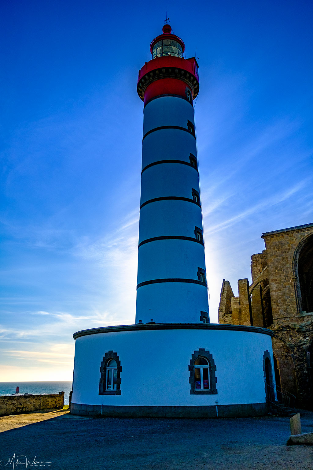 The lighthouse of Pointe Saint-Mathieu