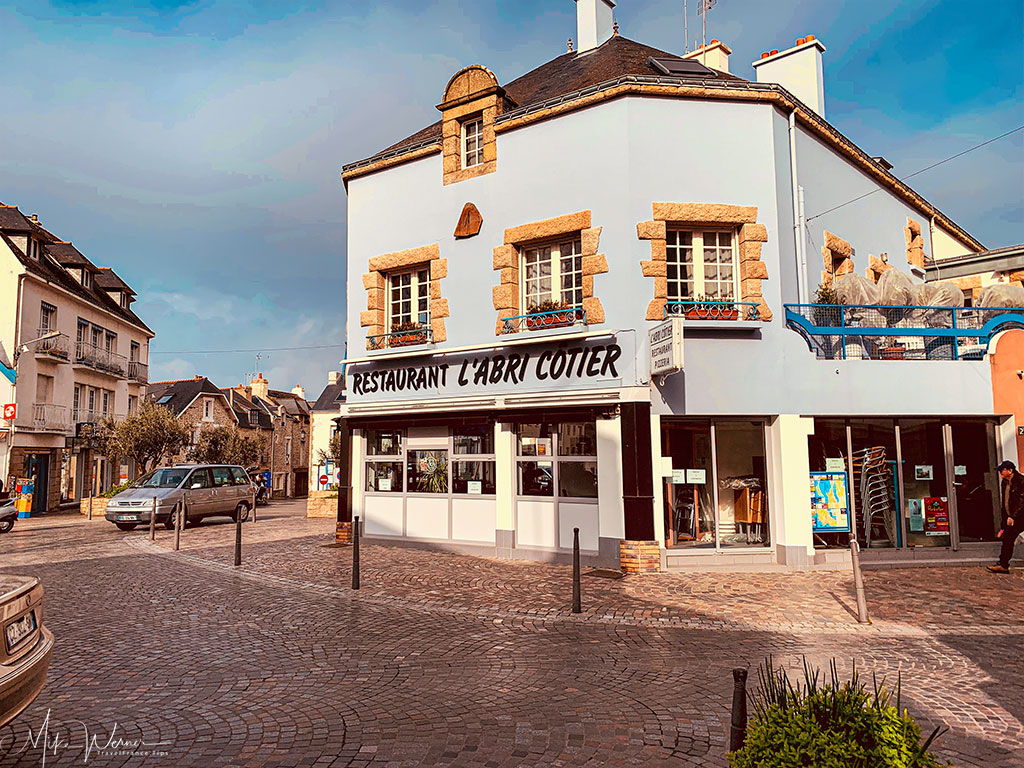 Restaurant in Quiberon, Brittany