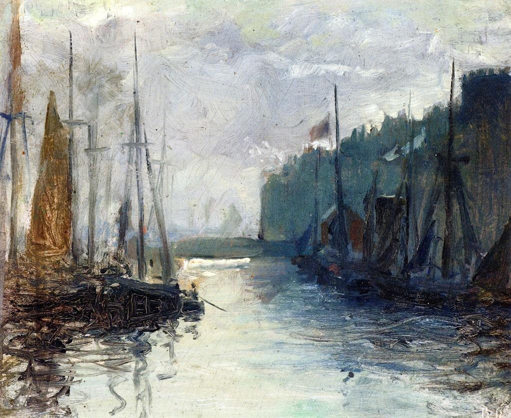 1885 Raoul Dufy - The Basin de la Barre