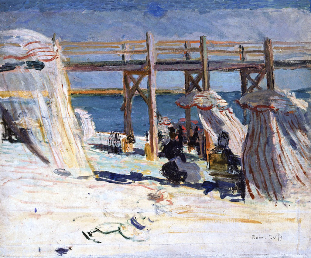 1902 Raoul Dufy - The Pier at Sainte-Adresse