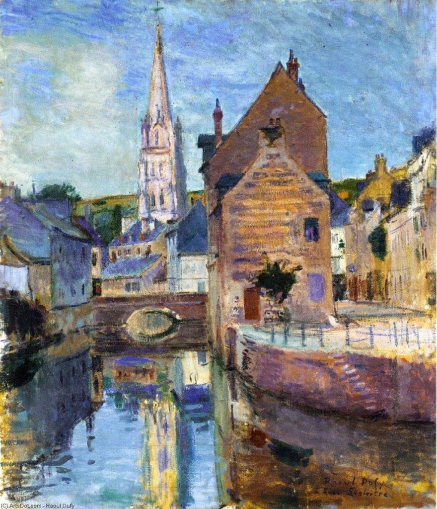 1903 Raoul Dufy - Harfleur