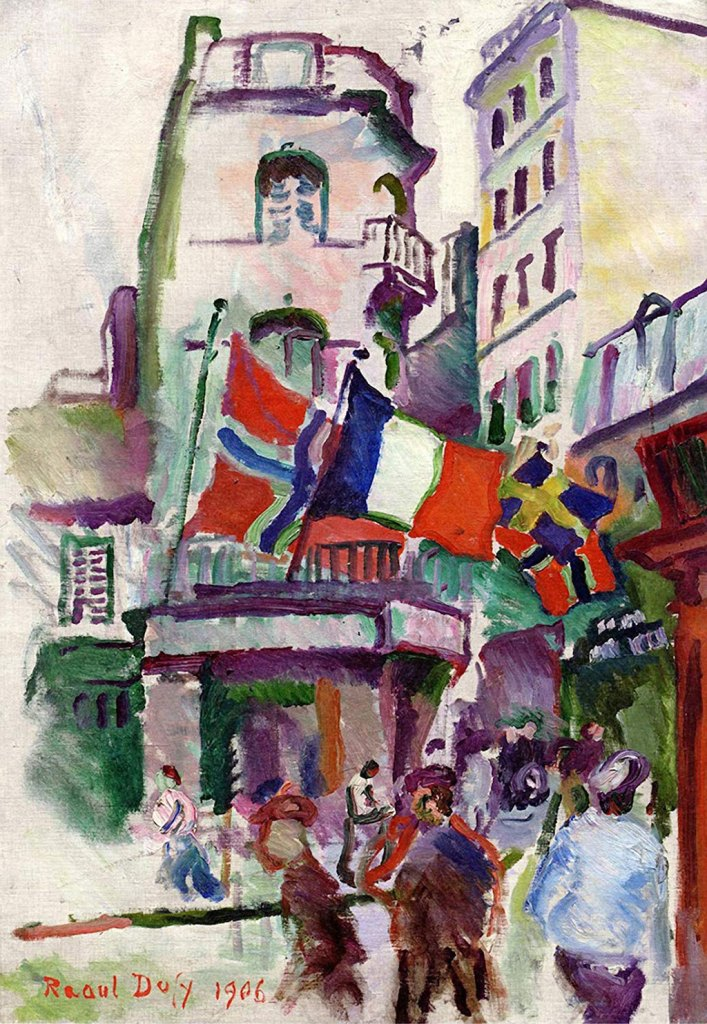 1906 Raoul Dufy - 14th July in Le Havre