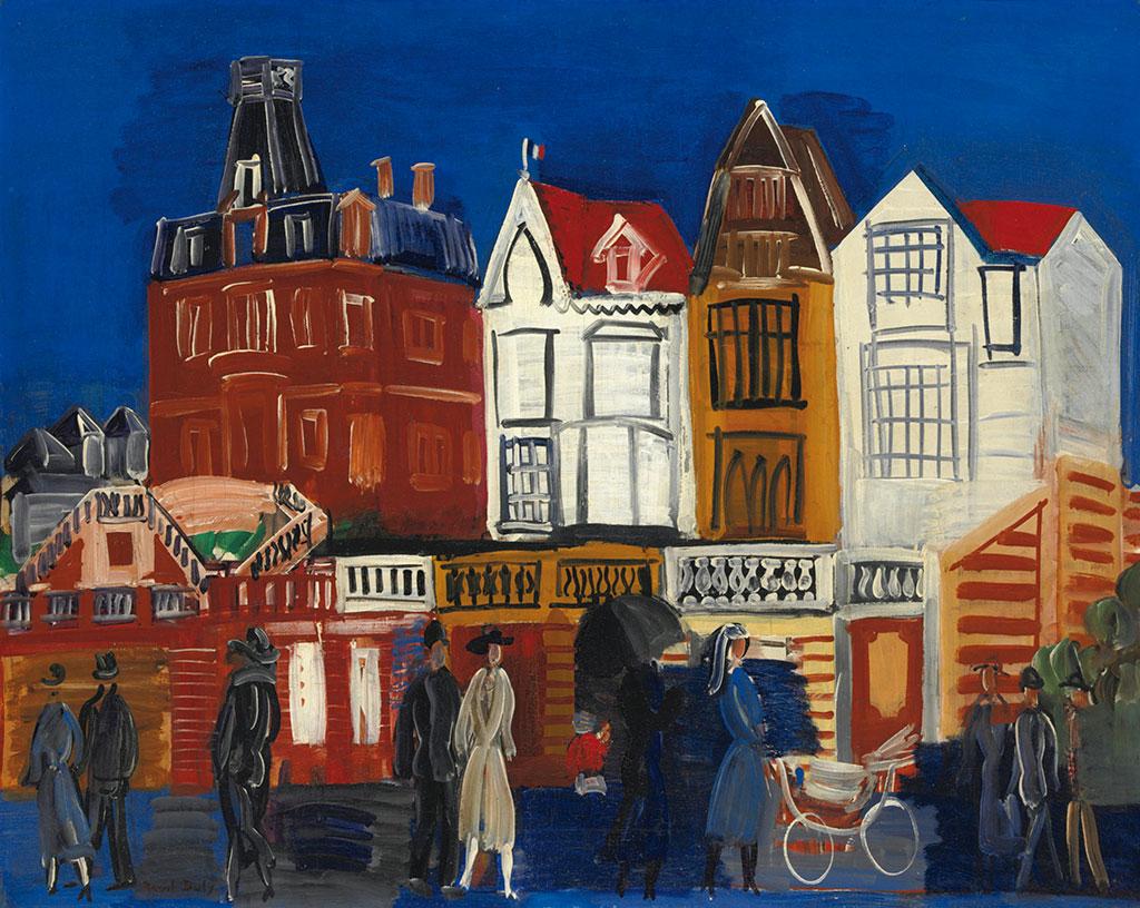 1922 Raoul Dufy - The Promenade at Le Havre