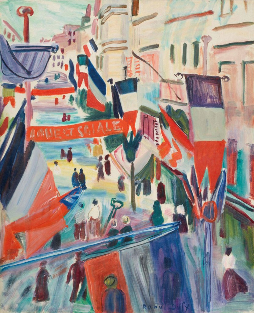 1950 Raoul Dufy - July 14th at Le Havre