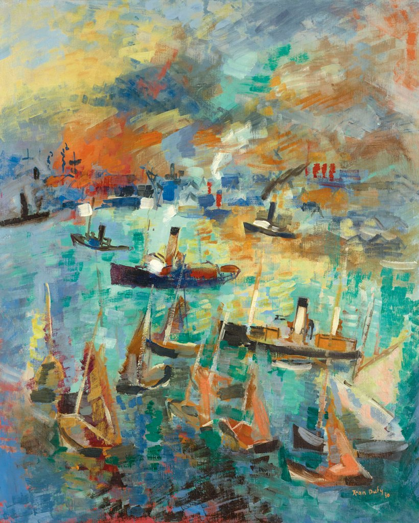 1929 Jean Dufy - Le Havre