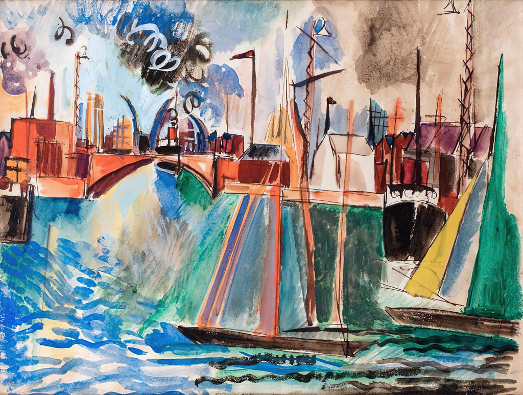???? Jean Dufy - Port of Le Havre